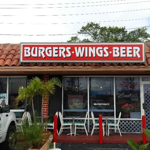Burgers Wings Beers